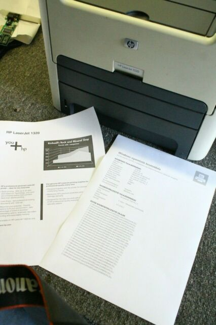 HP LaserJet 1320 A4 Duplex USB Parrallel  Laser Printer double-sided printing