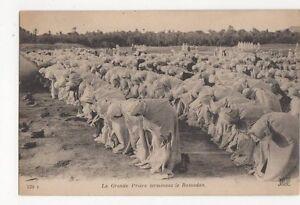 La-Grande-Priere-Terminant-Le-Ramadan-Vintage-Postcard-218a