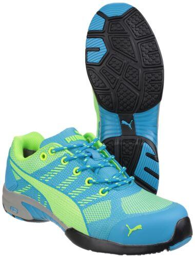 Puma para Uk2 Low industrial Safety mujer Celerity zapatos Knit Blue 8 deporte Zapatillas para de de trabajo ZPnISxO0q