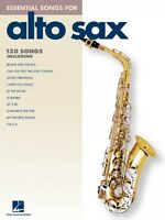 Essential Songs For Alto Sax Instrumental Folio Book 000842272