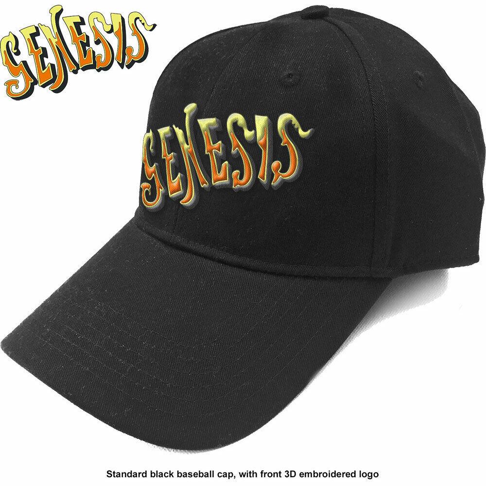 Genesis - Orange Classic Logo Herren Baseball Cap - Schwarz