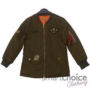 Kids Star US Army Jacket Army Flight Bomber Jacket Coat ...