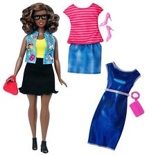 Mattel - Barbie Fashionista Doll - #39 Emoji Fun (Curvy) - Brand New