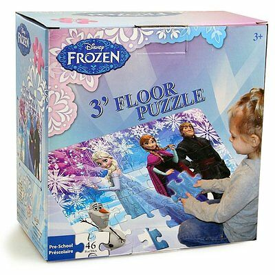 Disney Frozen Giant Jumbo Large Kid Floor Puzzle Jigsaw 46pcs Elsa Anna Olaf 695