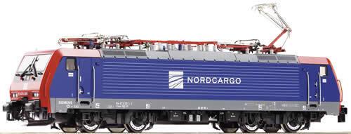 ROCO h0 68376 E-Lok 474 Nord Cargo DIGITAL NUOVO OVP per   AC