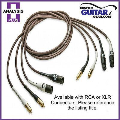Analysis Plus BULK Chocolate Oval 12//2 Speaker Cable Length 35ft