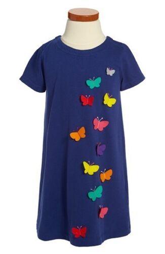 BODEN GIRLS CUTE APPLIQUE DRESS BUTTERFLY OR FLOWERS  AGES 1-12  BNWOT