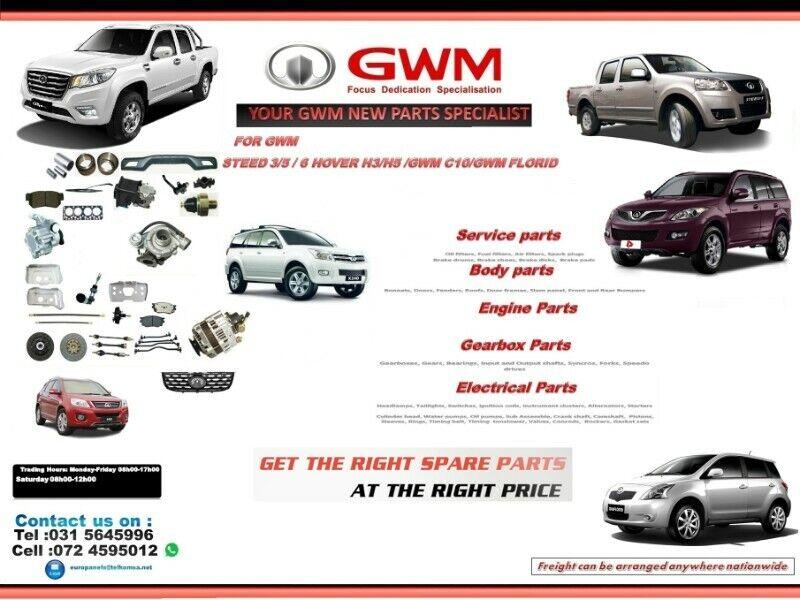 SPECIALISING IN GWM AUTOMOTIVE NEW PARTS