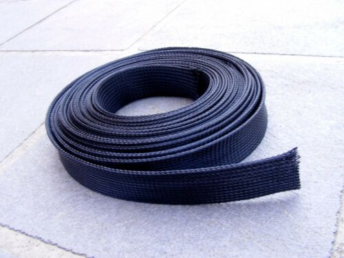 1M// 2M// 3M BLACK Wire Harness 30mm Sheathing BRAIDED Expandable SLEEVING Cable