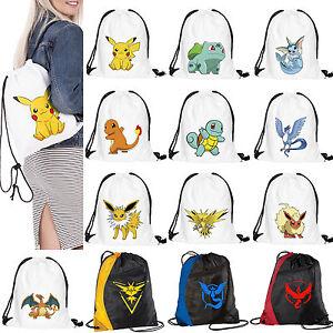 Pokemon Go Team Valor Team Mystic Team Instinct Pokemon swimbag bag school