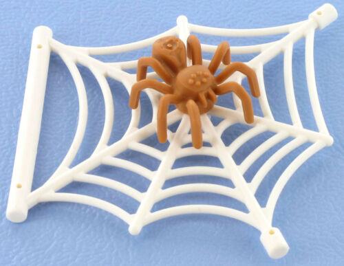 LEGO Spinnennetz mit Spinne beige 90981 30238 NEU