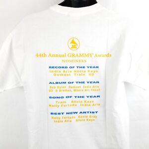 Grammys-Show-Awards-2002-Music-Event-Alicia-Keys-U2-T-Shirt-Large-I6