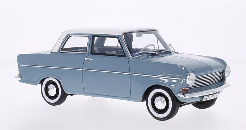 1962 Opel Kadett Blau with Weiß Roof by BoS Models LE of 1000 1 18 Scale Rare