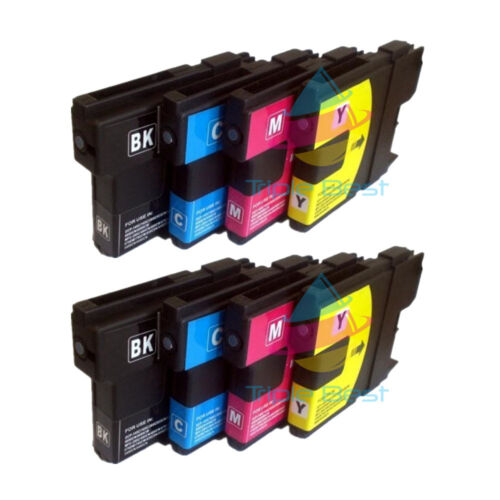 8 pack Compatible LC61 Ink Cartridge for Brother MFC-490CW MFC-495CW MFC-5490CN