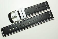De marque Bracelet En Cuir Alligator Print bracelet Montre cuir Bande 18 mm