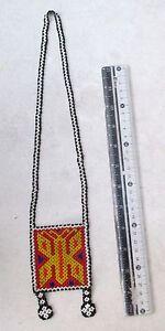Vintage Chin Hill Tribe Bead Shaman Necklace HANDMADE