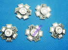 5PCS 3W High Power Blue LED Emitter 470-475nm 60lm with 20mm Star Base