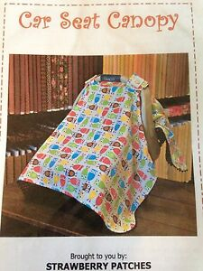 Image Is Loading A Must Have Baby Car Seat Canopy Sewing