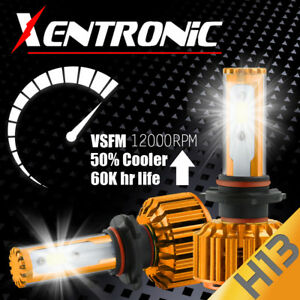 H13 488W 48800LM CREE LED Headlight Kit High/Low Beam Bulbs 6K White High Power
