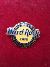 Hard Rock Cafe Pin Collectors Club Logo Member 2008