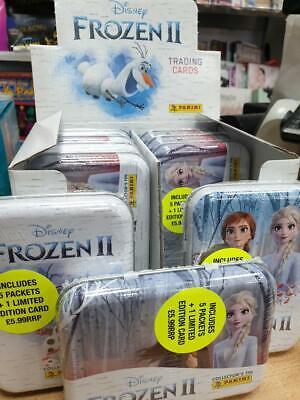 PANINI DISNEY FROZEN II TRADING CARD COLLECTOR TIN FROZEN II TRADING CARDS TIN