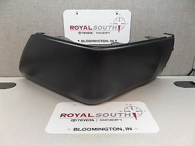 Bumper End Caps Set For 2014-2018 Toyota Tundra Rear with Plastic Bumper