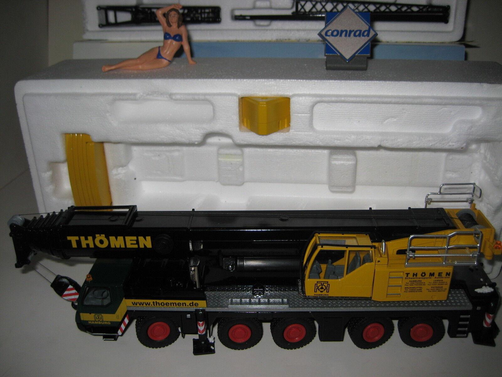 LIEBHERR LTM 1200-5.1 Autokran THÖMEN  2101.7 CONRAD 1 50 NEUF dans sa boîte