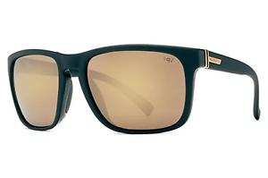 NEW Von Zipper Lomax Sunglasses-BDP Black-Gold Chrome Lens-SAME DAY SHIPPING!