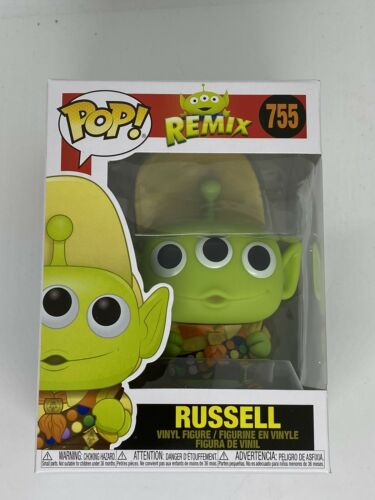 Remix Alien As Russell Disney Pixar Up Funko Pop