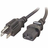 6' Samsung Hp-s5073 Hp-s5073c Hp-s6373 Hp-t4234 Ln-t3253h Tv Ac Power Cord/cable