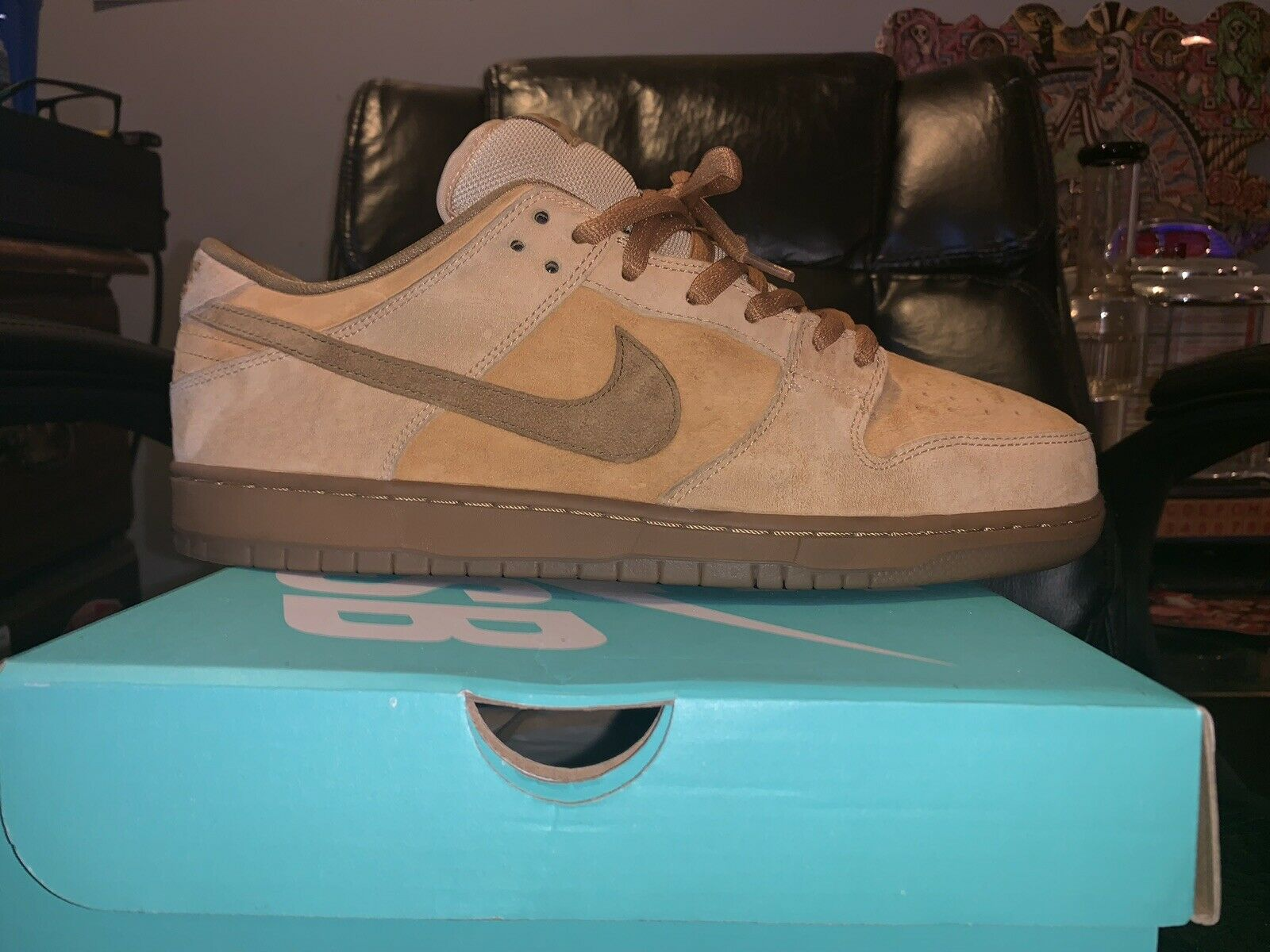 Nike SB Dunk Low Reese Forbes Reverse Penutbutter Size 13