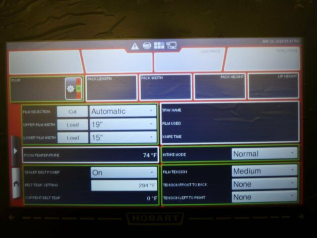NEW Hobart EPCP-5i HT Series Linux Touch Screen Console Wrappers AWS EWS HWS CLA