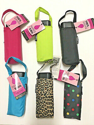 Puppies NeverWet technology 38 arc Coverage Blue With Multicolored Dogs Totes Micro Mini Manual Compact Umbrella
