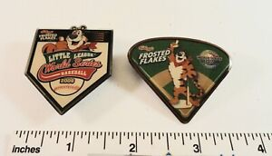 Little-League-Baseball-Pin-s-2-Kelloggs-Frosted-Flakes-2008-amp-2010