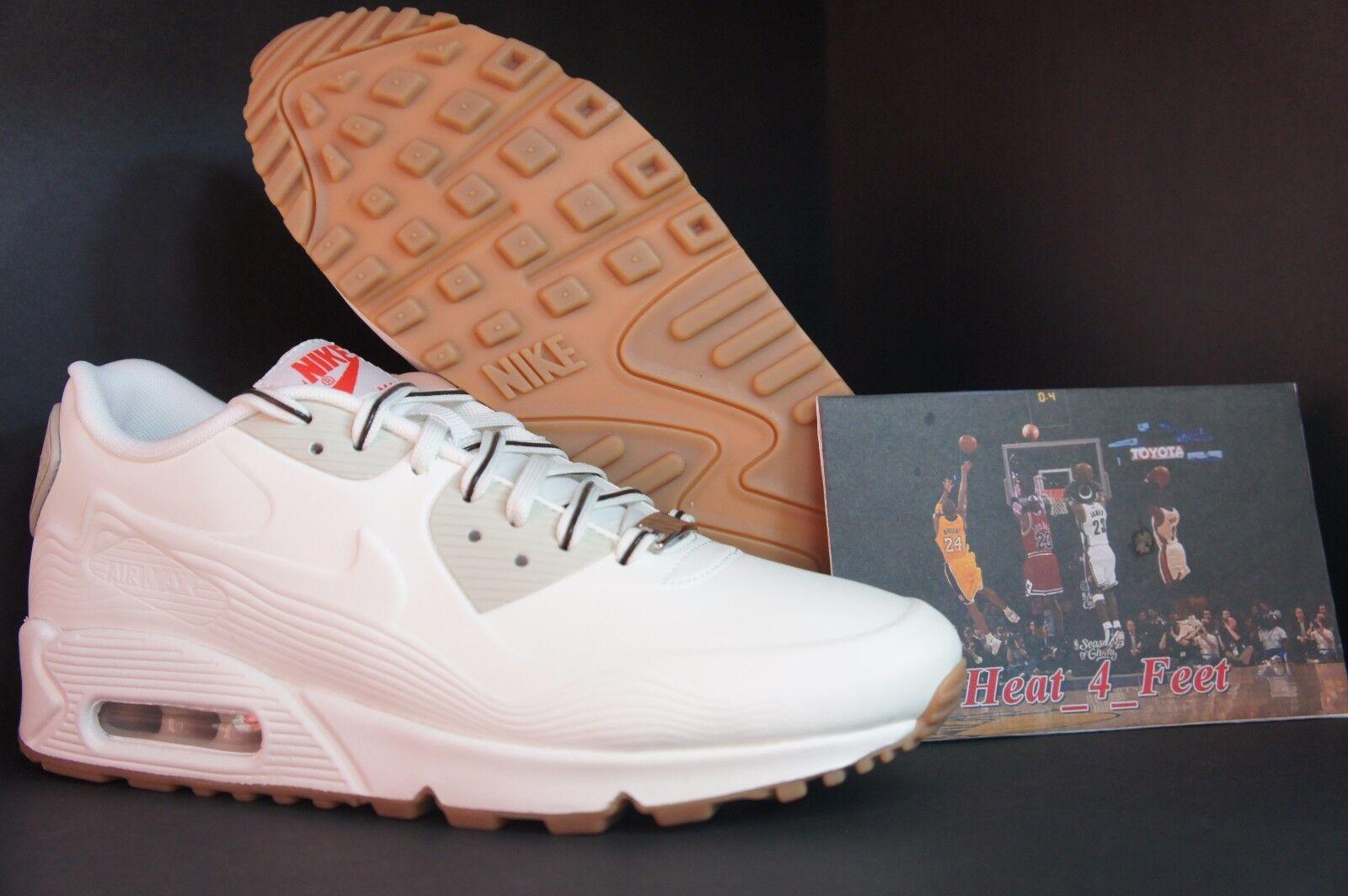 Nike Air Max 90 VT QS City Pack Tokyo White Gum Atmos Camo Safari 813153 100 White