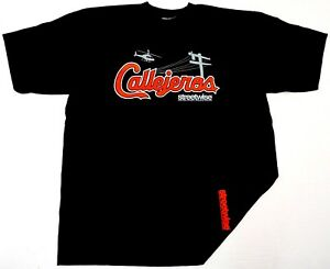 STREETWISE-CALLEJEROS-T-shirt-Urban-Streetwear-Men-L-4XL-Black-Tee-New