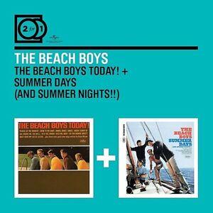 The-BEACH-BOYS-2-for-1-the-Beach-Boys-today-summer-days-2-CD-NUOVO