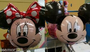 Mickey-amp-Minnie-Mouse-34-034-HELIUM-FOIL-BALLOON-SUPERSHAPE-ANAGRAM