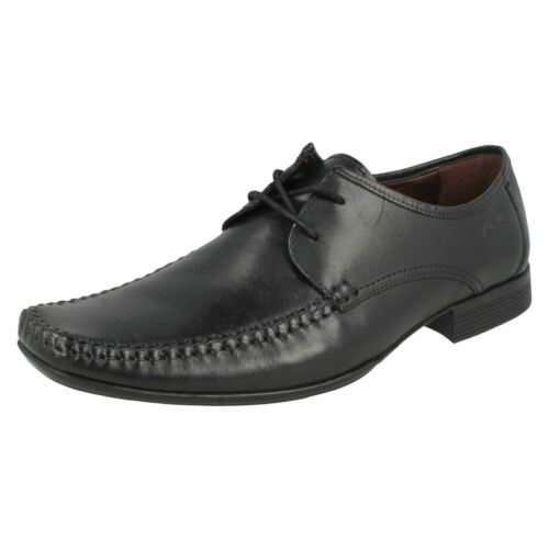 hombre Ferro Clarks cordones formales con negros Zapatos para Walk dIBw0xX5q