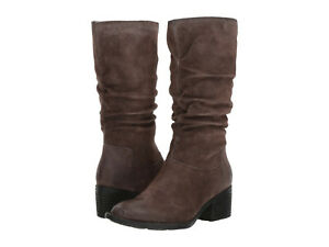 Born-Womens-Peavy-Pull-On-Inside-Zip-Zipper-Mid-Calf-Slouch-Casual-Dress-Boots
