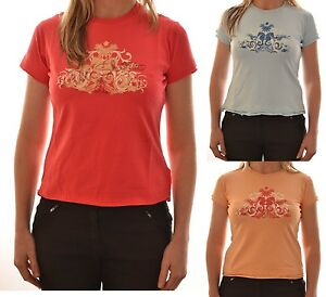 Regatta-Mujer-Lilly-Casual-Manga-Corta-Camiseta-rosa-azul-Albaricoque-ws171-C9