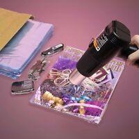 500 Pcs Pvc Heat Shrink Wrap Film Flat Bags - Various Sizes Available. Brand