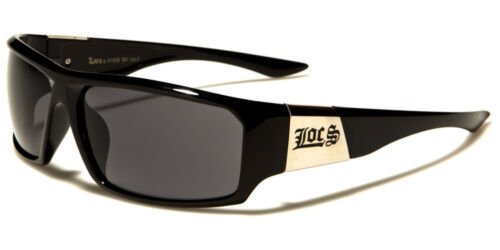 NEW Wide arms Locs Rectangle Men's Sunglasses Large Skiing Driving - LOC91058
