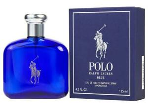 POLO BLUE by Ralph Lauren 4.2 oz edt Cologne for men New in Box
