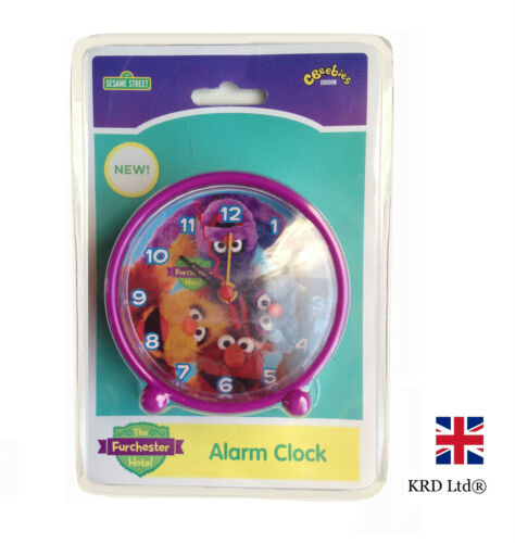 THE FURCHESTER HOTEL Kids ALARM CLOCK Bedside Table Girls Boys Birthday Gift NEW