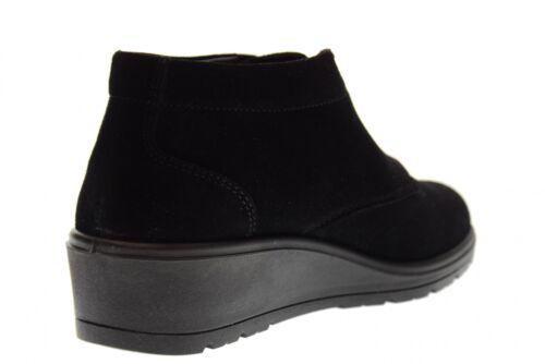 A17f Avec Coin V18505 Black Valleverde Haut Chaussures 8dx4q1