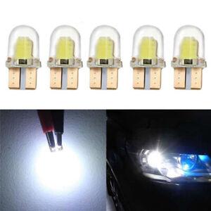 10pc-LED-T10-W5W-COB-SMD-CANBUS-Lampara-de-luz-blanca-brillante-de-silice-N2Q-4O