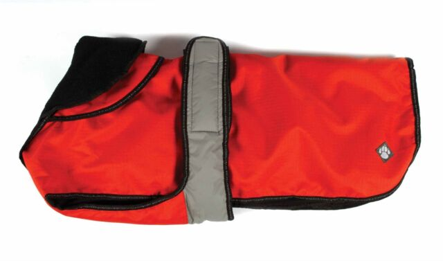"""Danish Design Dog Coat 2 in 1 - Orange - 45cm (18"""")"""