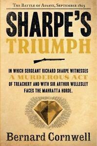 SHARPE-039-S-TRIUMPH-by-Bernard-Cornwell-FREE-SHIPPING-paperback-book-historical-war