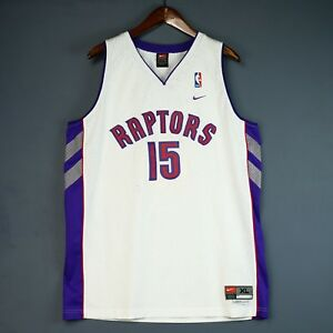 a3e053f70ba 100% Authentic Vince Carter Nike Toronto Raptors NBA Swingman Jersey ...